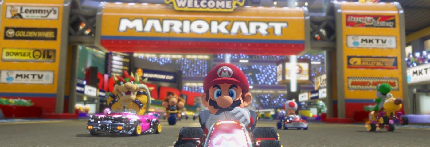 Tout roule pour Mario Kart 8