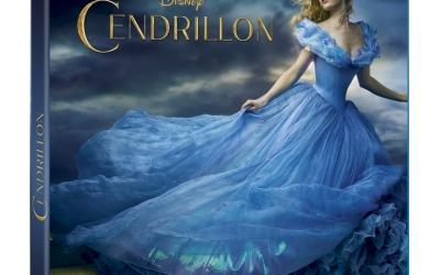 Cendrillon en Blu-ray et DVD le 26 août