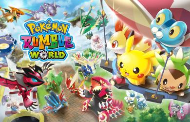 POKÉMON RUMBLE WORLD SUR NINTENDO 3DS