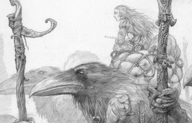 John Howe – Dessins Légendaires